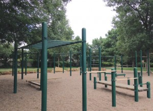 Outdoor Fitness Circuit Equipment in Lafayette Colorado