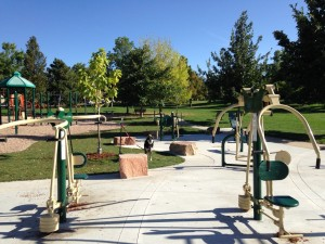 Boulder Outdoor Exercise Equipment Fitness Circuit Trail