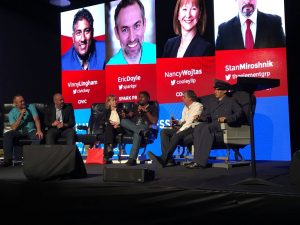 Blockchain Convention, Block-con 2017: Stan Miroshnik, Nancy Wojtas, Eric Doyle, Vinny Lingham, Alan Soucy